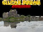 Pre-cut Eilean Donan Castle