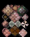 Various Medieval Floor Tiles