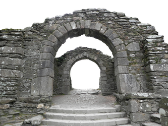 Pre-cut Stone Gateway by presterjohnstock