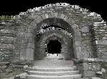Pre-cut Stone Gateway