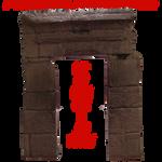 Pre-Cut Stone Gate