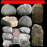 Precut Stones