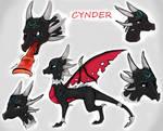 Cynder Concept art