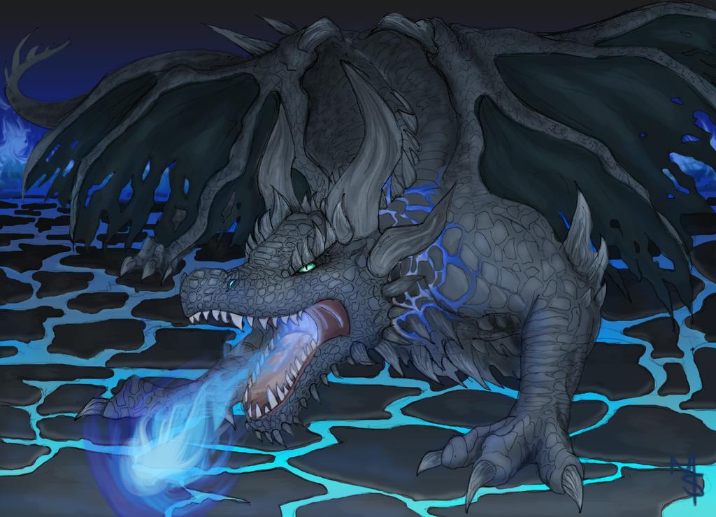 Naycustrina Dragon  by Bluepisces97