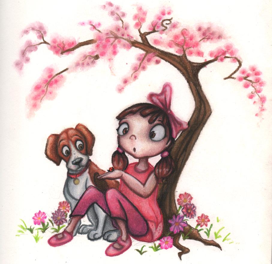 Sketchbook.04 - Ladybird by Bluepisces97