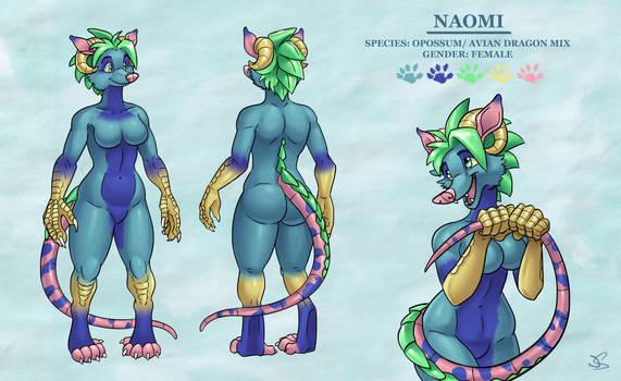 Naomi Reference Sheet