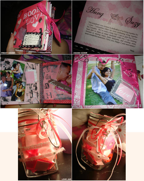 scrapbook + love jar. by ultrafemme