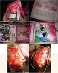 scrapbook + love jar.