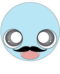 Mustache by Lambofthemoon