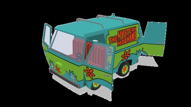 MMD Model Scooby Doo Mystery Machine