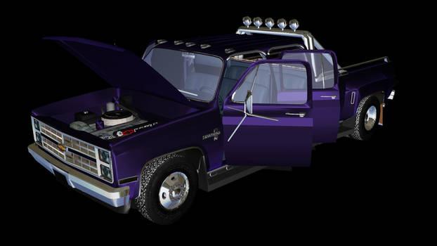 Chevrolet Silverado XNA conv Don Deloro MMD Model