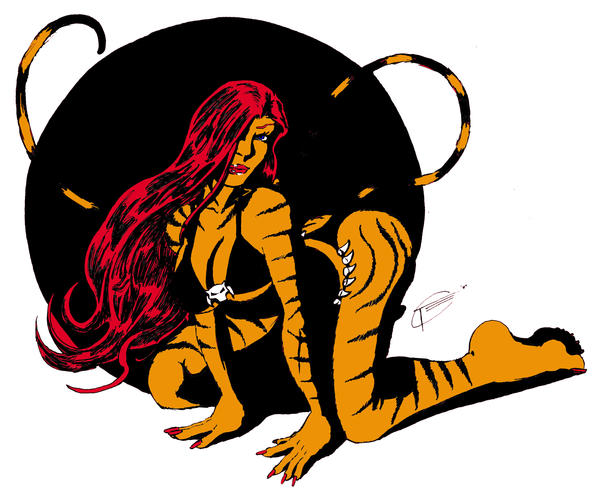 Tigra by Sketch64