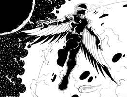 Dark Hawk 2 Inked