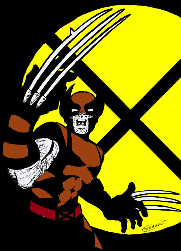Wolverine Brown By Sketch64 On Deviantart Color Your Own Wolverine