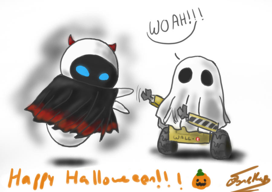 Happy Halloween from WALLE by rue789
