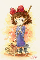 Kiki and Jiji by Chibi-Joey