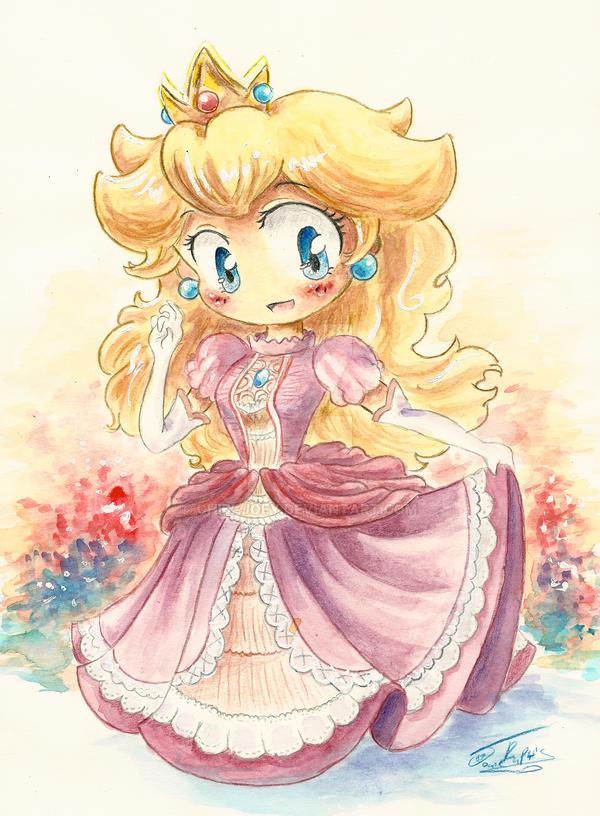 Princess Peach by rue789