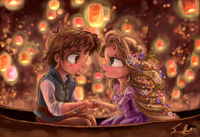 Tangled - I See the Light by Chibi-Joey