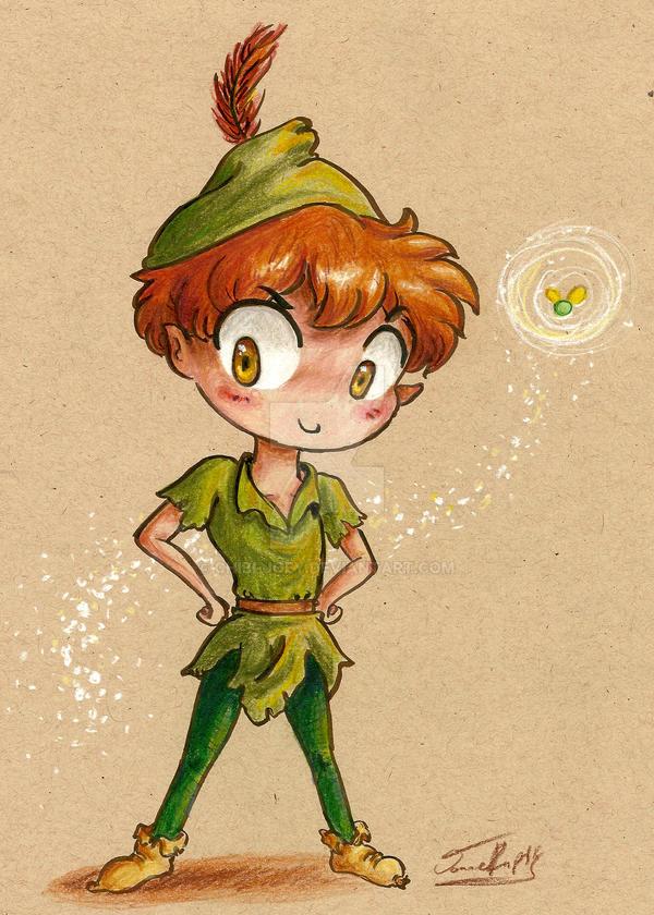 Peter Pan by Chibi-Joey