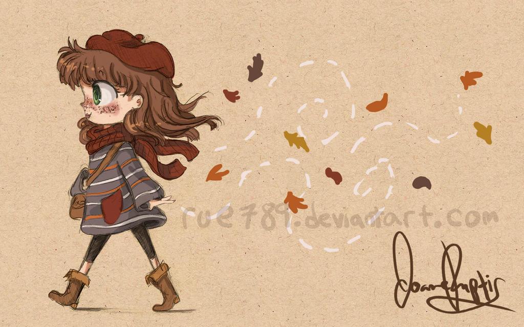 Autumn Stroll by rue789