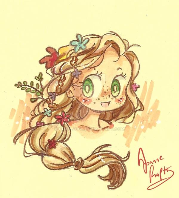 Rapunzel by Chibi-Joey