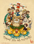 Thank you Mr. Miyazaki by Chibi-Joey