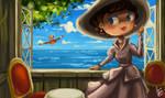 Gina's Garden by Chibi-Joey