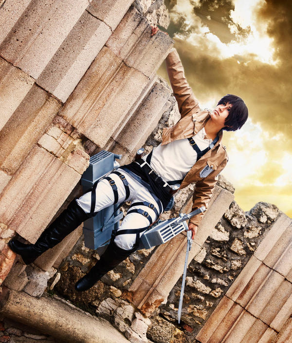 We can have a brighter future - Eren Cosplay/SnK/ by Hikuja