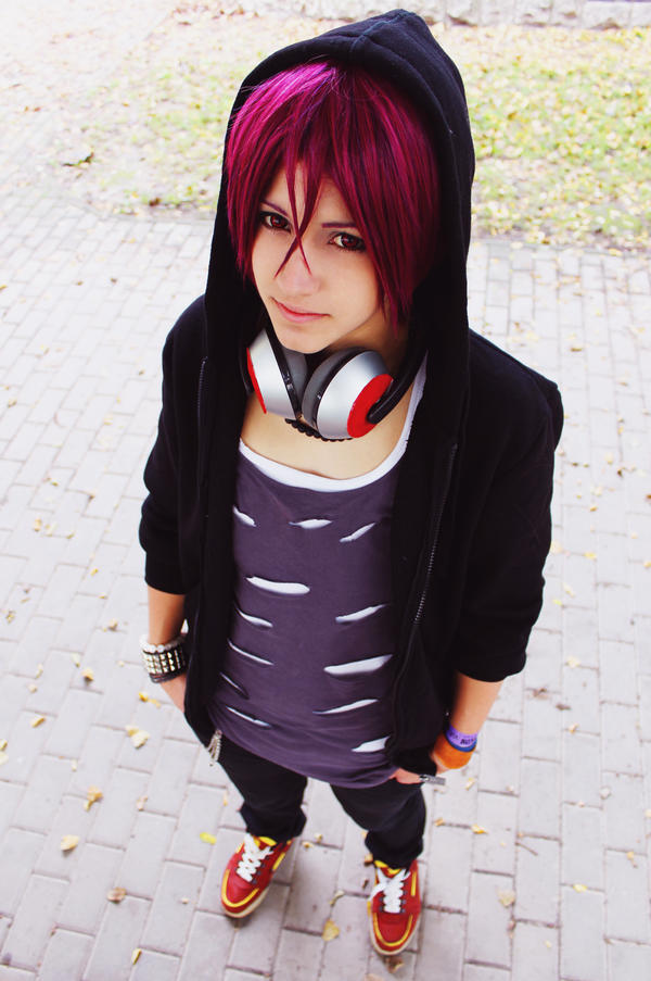 What a nice day~ - Rin Cosplay /Free!/ by Hikuja