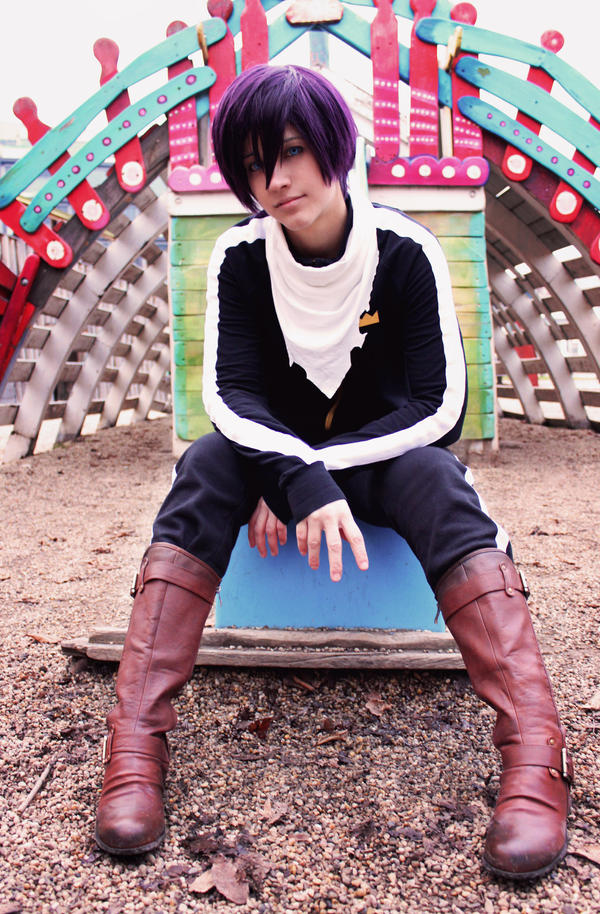 Life is a playground~ - Yato Cosplay /Noragami/ by Hikuja