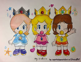 The Baby Princesses ~ by superbabymariolove