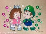 AT: Kimmy and Luigi!