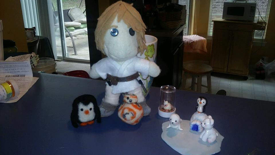 Luke Skywalker Plushie by ilovemacca64