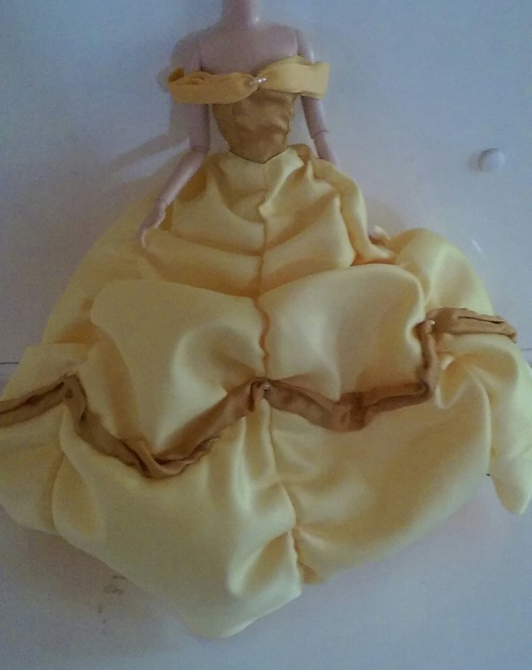 Belle Doll Dress by ilovemacca64