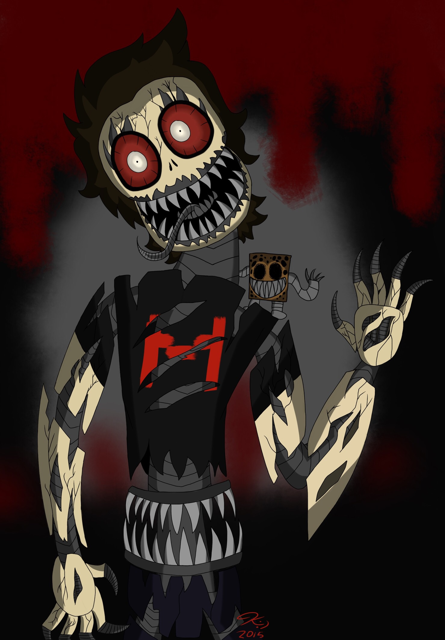 Markiplier nightmare animatronic by DragonMaddie on DeviantArt