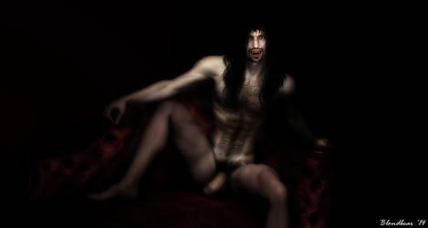 Josh Portrait of a Vampire 4 by Blondbear1
