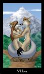 Vulpine Tarot - VI Love