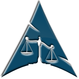 Scales of Justice Arch Logo by Ghost1227