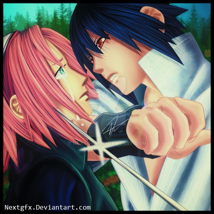 Sasuke and sakura stay away from me by nextgfx on deviantart sasuke and sakura stay away from me by nextgfx altavistaventures Gallery