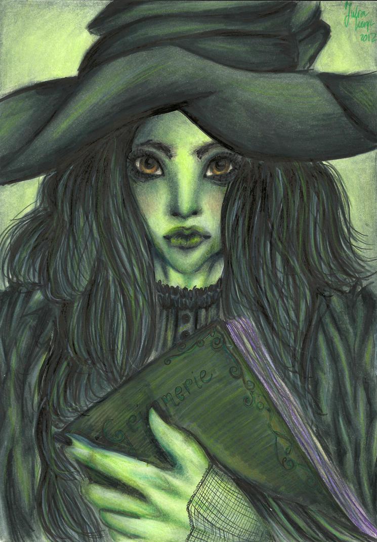 Wicked witch by Julenzya