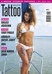 Hungarian Tattoo Magazine 183 - July 2015