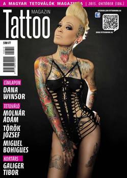 Hungarian Tattoo Magazine 186 - Oct 2015