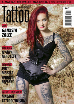 Hungarian Tattoo Magazine 189 - Dec 2015