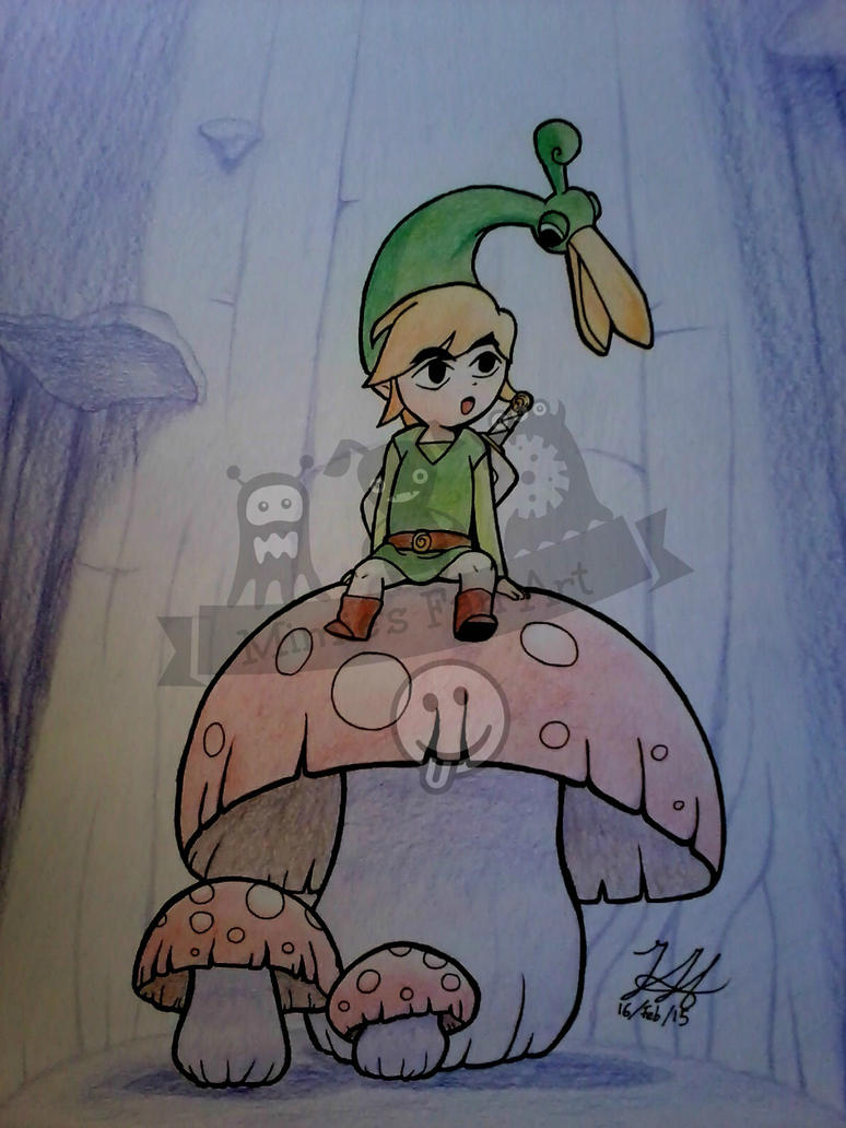 Minish Cap by jimmymima