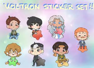 Voltron - Sticker Set