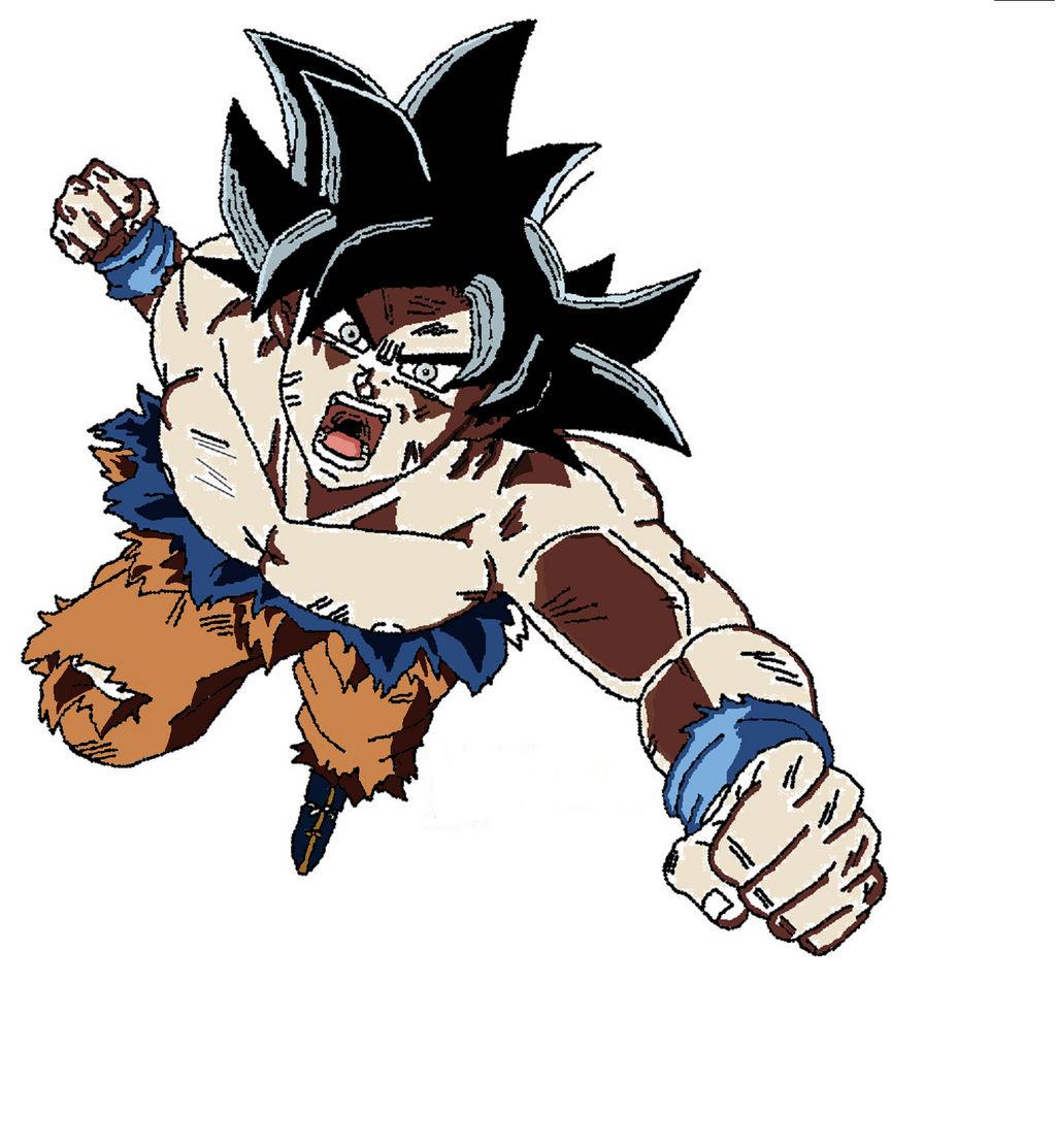 Pixel Art Ultra Instinct Goku By Buckycap1990 On Deviantart