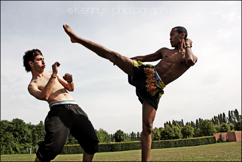 ...muay thai... by kennysphotography