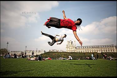 Flyin men by kennysphotography