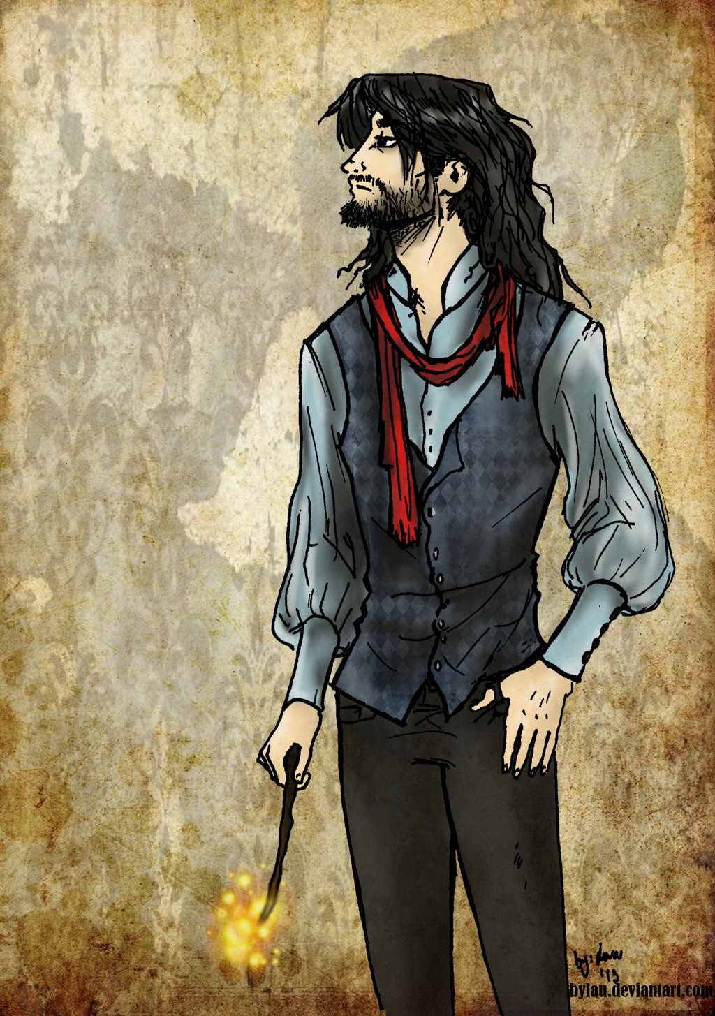 Sirius Black New Design By ByLau On DeviantArt