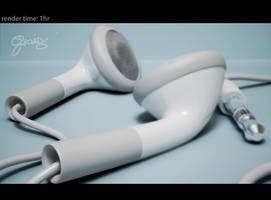 apple earphone2HD by crosslineHB